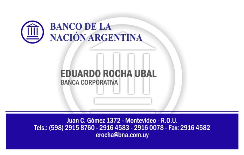 Tarjeta BANCO DE LA NACIÓN ARGENTINA