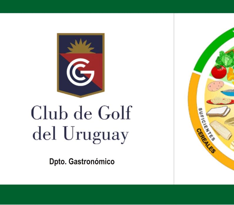 Tríptico Club de Golf del Uruguay