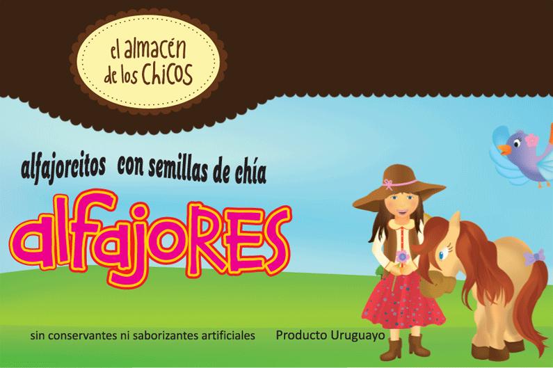 """Packaging """"Alfajores"""" El Almacén de los Chicos"""