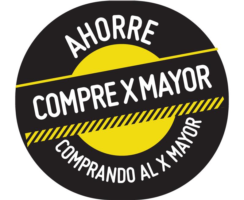 """Destacador """"Ahorre Compre X Mayor"""" SODIMAC"""